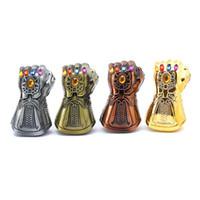 ingrosso cappelli di vendicatori-New Thanos Guanto da guanto Apribottiglie per birra Avengers multiuso Figure Soda Glass Cap Remover Tool Super hero Decoration Regalo creativo