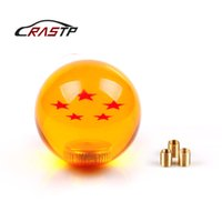 Wholesale RASTP New Arrived Dragon Ball Star Gear Shift Knob mm Diameter Acrylic For Universal Car RS SFN042