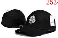 ingrosso moda yeezus-Moda di alta qualità Nuova palla tappi MON design Berretto da baseball Yeezus cappelli per uomo donna regolabile Snapback Canada cappello di lusso all'ingrosso