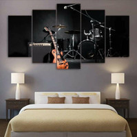 Wholesale canvas musical art for sale - Group buy Canvas Art Wall Decor Painting Panel Musical Instruments Picture Print on Canvas Wall Art Gift Poster Home Decor No Frame