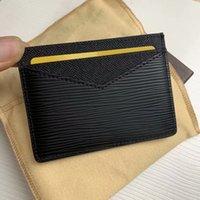 ingrosso sacchetti di denaro mini zip-Cuoio di modo di alta qualità borsa della moneta di Uomini piccolo portafoglio Holder Change Purses Mini Money carta Borse