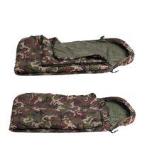 Wholesale weather mats for sale - Group buy 200 cm Sleeping Bag Envelope Style Sleep Bag Camouflage Mat Cushion Hat Outdoor Leisure Camping Break Sleeping Bags