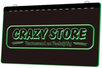 Wholesale neon store signs resale online - LD1151 g Crazy Store Verrassend en Veelzijdig Neon Light Sign Decor Dropshipping colors to choose