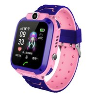 Wholesale kids waterproof tracking watch resale online - Smart Watch GPS GSM Locator TouchScreen Tracking SOS Waterproof Bracelet for Kids TU shop