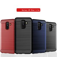 Wholesale stars lite for sale – best Soft TPU Silicone Case for Samsung A9 Star Lite Silicone Fitted Carbon Fiber Soft TPU Shockproof Phone Cover