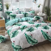Wholesale full bedding sets for adults resale online - Z Jian Home Lucky Leaf Bedding Sets For Adults Classic Quality Bedding set Bed Linen Duvet Cover Bed Sheet Pillowcase bed Sets
