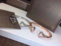 elmas tasarım bilezikleri toptan satış-Yeni Divas Rüya serisi hollow fan bilezik Bahar açılış tasarım yeni elmas etek bilezik Marka takı diva serisi bileklik bileklik