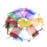 sac d'emballage pour cosmétiques achat en gros de-Fashional 3000pcs 5x7cm Belle Organza Sacs CadeauBonbonCosmétiqueSpour FleurEmballage DouxAffichage