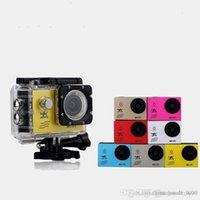 caméras sous-marines achat en gros de-Caméra d'action F60 Caméra vidéo 4K HD 1080P sport WiFi 2.0