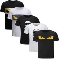 neuheit gold großhandel-Neuheit Modedesigner T-Shirts für Männer T-Shirts Casual T-Shirt Männer Frauen T-Shirts Kurzarm T-Shirt