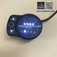 painéis de exibição led venda por atacado-Bicicleta elétrica exibição 24V / 36V LED / display do painel 48V KT LED900S Meter Controle Ebike Com Cabos 5wire