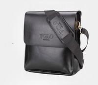 Wholesale locking briefcase for sale - Group buy Mens Briefcase Business Bags Casual Business Leather Messenger Bag Vintage Men s Crossbody Bag Bolsas Black Brown Shoulder Bags
