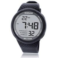 цифровые часы для дайвинга оптовых-Горячо!!! Мода мужчины спортивные часы водонепроницаемый 100 м открытый весело цифровые часы плавание дайвинг наручные часы Reloj Hombre Montre Homme C19010301