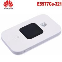 roteadores mifi venda por atacado-Huawei E5577 4G LTE Cat4 e5577-3211500mAh Hotspot móvel Roteador sem fio wifi bolso mifi dongle PK e3276 e5776 e5577c e5573