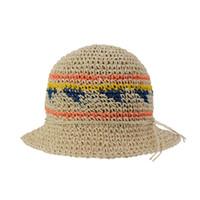 богемский стиль оптовых-DeePom Sun Hat Женские Летние Шапки Для Женщин Красочные Соломенная Шляпа Ведро Пляж Панама Cap Отдых Отдых Путешествия Богемия Стиль
