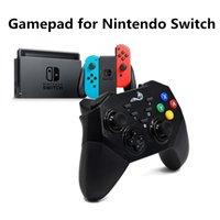 joystick de jogos sem fio venda por atacado-Soundfox Gamepad Bluetooth Sem Fio Gaming Joystick Bluetooth Controladores Remotos para Nintendo Switch DualShock Console De Vibração NS