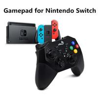 nintendo joysticks großhandel-Soundfox Gamepad Bluetooth Wireless Gaming Joystick Bluetooth-Fernbedienungen für Nintendo Switch DualShock Vibration Console NS