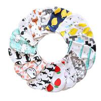 bebé gorros cráneo al por mayor-22 colores Ins niños diseñador de sombreros de invierno de dibujos animados de algodón estampado gorro de bebé casquillos de la gorrita tejida del sombrero Gorros A05