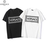 korece erkekler moda tişörtleri toptan satış-2019 sıcak yaz mektup ekose nakış moda kişilik mizaç Kore rahat vahşi erkek kısa kollu Tişört trendi