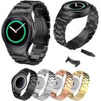 Wholesale magnetic gears for sale - Group buy Sport Band for Samsung Gear S2 SM R720 Stainless Steel Magnetic Milanese Replacement Sport Strap with Connector