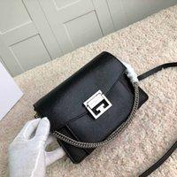 nylon messenger bag frauen großhandel-Designer Luxus Handtasche Brieftasche hochwertige Echtleder Damen Messenger Bag 2019 Modemarke Tasche Designer Umhängetasche