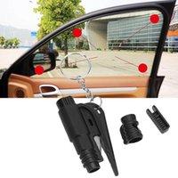 acil anahtarlık aracı toptan satış-Acil Mini Güvenlik Çekiç Oto Araba Pencere Camı Kesici Anahtarlık ile Kaçış Aracı Kurtarma Aracı Anahtarlık Emniyet Kemeri Kesici