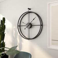 modernos, parede, relógios, grande venda por atacado-55cm de parede grande Silencioso Relógio design moderno Clocks para a decoração Home Escritório Estilo Europeu Hanging Wall Assista Clocks