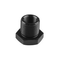 NEO ALUMINUM OIL FILTER RELOCATION MALE FITTING ADAPTER KIT 3//4X16 20X1.5