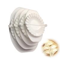 ingrosso strumenti per pasta-4 pz / set Premere Ravioli Pasta Pasticceria Pie Dumpling Maker Gyoza Stampo Strumento Stampo 4 Dimensioni Facile Eco Friendly Stampo Gnocco Utensili Da Cucina