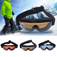 Wholesale sunglasses dust goggles resale online - Anti fog Dust Wind Ski Snow Goggles Helmet Ski Sunglasses Glasses