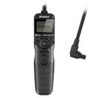 télécommande lcd achat en gros de-SHOOT RS-80N3 Minuterie LCD Télécommande Déclencheur Cordon Déclencheur pour Canon EOS 5D 6D 7D 10D 20D 30D 40D 50D 50D D30 D60 EOS 5D Mark II