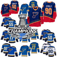 Wholesale parayko jersey for sale - Group buy 2019 Stanley Cup Champions jersey St Louis Blues Binnington Schwartz Ryan O Reilly Colton Parayko Schenn Vladimir hockey jerseys