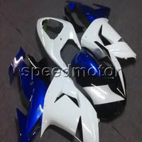 weiße kawasaki ninja plastics großhandel-23colors + Botls blue white motorrad Verkleidungen für Kawasaki ZX10R 2006 2007 ZX 10R 06-07 ABS-Kunststoff-Kit