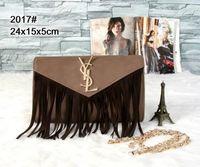 bej poşetler toptan satış-Bej Siyah lüks çanta zincir omuz çantası tasarımcı crossbody çanta 2019 ünlü kadın çanta ve çanta YSV kadın solungaçları için yeni stil