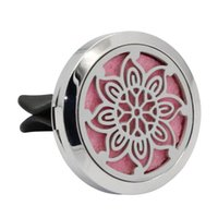 продажа автомобилей духи оптовых-Perfume Fragrance Car-styling AUTO Stainless Car Air Auto Vent Freshener Essential Oil Diffuser Gift Conditioning Vent Hot Sale