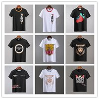 Wholesale black people clothes resale online - 2019 New Arrival Summer Tees Top Quality Men T Shirts D2 Print People Fashion Clothing Yellow Black White Size M XL