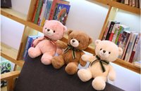 ce teddy großhandel-Kawayi Kreatives Spielzeug Niedliches Gefüllte Teddybär für Valentinstag Aquarium abgerundete Form, Adorablet Cartoon 35CM Kinder Tiere