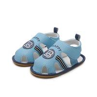 säuglinge gehen schuhe großhandel-Säuglingskleinkind-Babyschuhe Summer Boy Sandale rutschfeste Gummisohle Prewalker ist gut verarbeitet, um das Gehen natürlich zu machen