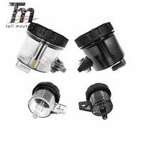 Wholesale ktm brake resale online - Front Rear Brake Fluid Reservoir For KTM RC8 R ADV R SUPER ADVENTURE T SUPER DUKE GT R Motorcycle Oil Tank Cup