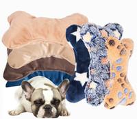 teddybär hundespielzeug großhandel-Geschenk Hundespielzeug Teddy Hundeknochen Plüsch Kissen Haustier Katze Als Bär Bär Biss Molar Spielzeug Heißer Verkauf