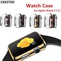 чехол для яблочных часов оптовых-2019 Для Apple Watch 4 3 Apple Watch Case iwatch группа ремешок 42 мм 38 мм 44 мм / 40 мм защитная пленка часы Аксессуары