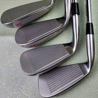 Wholesale silver group for sale - Group buy Men XF silver red and Blue Golf clubs W a group of graphite and steel rods with rod sleeve free delivery