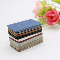 Wholesale diy jewelry cards for sale - 2 x3 cm Card for Making Jewelry Diy Accessories Card Earrings Stud Earring Display Cards Label Tags
