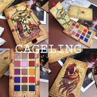 kits de maquiagem glitter venda por atacado-Cageling 15 Cores Paleta da Sombra Shimmer Matte Glitter Sombra de Paleta Pigmentado Long-Lasting Kit de Maquiagem À Prova D 'Água