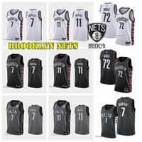 haut de maillot de basketball achat en gros de-BrooklynNets Kevin Durant 7 2019 2020 New jersey de basket-ball Kyrie 11 Hommes Irving College Basketball Hot Top ventes chemise chaud Qualité