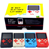 Wholesale arcade games for free for sale - Group buy Portable Retro Mini Handheld Game Console bit Color inch LCD Game Player For FC Games Can Store games Free dhl shipping