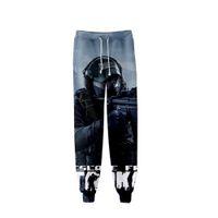 мужские бейсбольные штаны оптовых-Escape From Tarkov Printed Hot Shooting Game Casual 3d Battle Pants Men 3d Gym Trousers Hip-hop Plus Size Baseball Pants Vrouwen