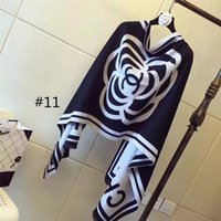 lenços de senhora venda por atacado-Designer de luxo das mulheres xale inverno quente macio cachecol meninas cachecol lenços de pescoço senhoras lenço 20 estilo