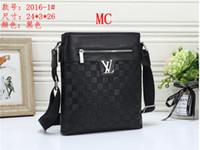 Wholesale shoulder bags for mens resale online - Top Quality Handbags Mens Womens Casual Fashion Messenger Bag Designers Leather Pu Totes Shoulder Bag Cross Body For Women