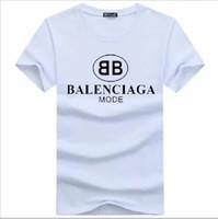 chemises pour hommes de marque achat en gros de-En gros, plus la taille de luxe classique marque o cou T-shirt Street Run maillot manches courtes poloshirt tee femmes Designer mens tops g7